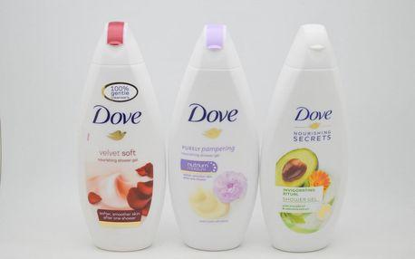 Dove sprchový gel: Velvet soft