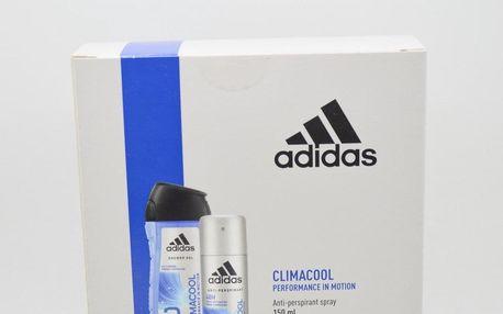 Adidas Climacool dárková kazeta pro muže deodorant ve spreji 150 ml + sprchový gel 250 ml
