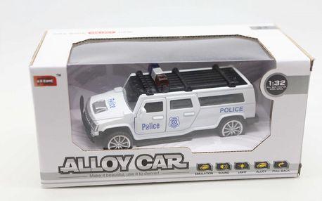 Policejní auto kovové 1:32