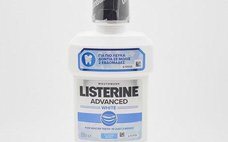Ústní voda Listerine Advanced White 250 ml
