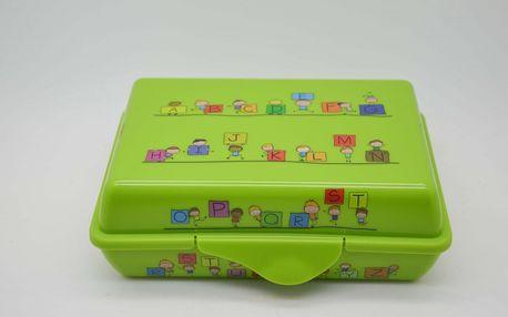 Svačinový box 0,9L Zelená