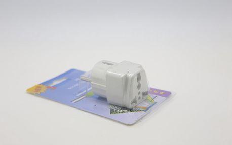 Cestovní adaptér do zásuvky s univerzální redukcí