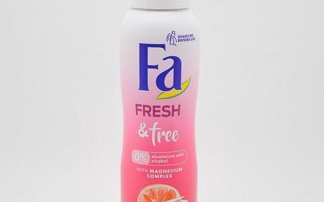Fa deodorant 150 ml - Fresh & Free - Greapefruit + Lychee
