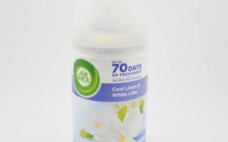 AIRWICK Náhradní náplň 250ml - do osvěžovače vzduchu. Vůně: Cool Linen & White Lilac