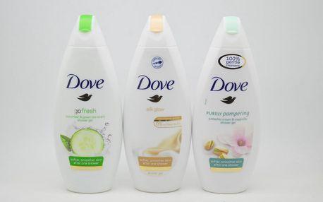 Dove sprchový gel: Go fresh - Cucumber & green tea scent