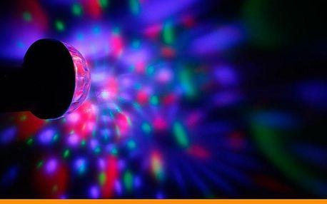 USB disco koule pro domácí párty