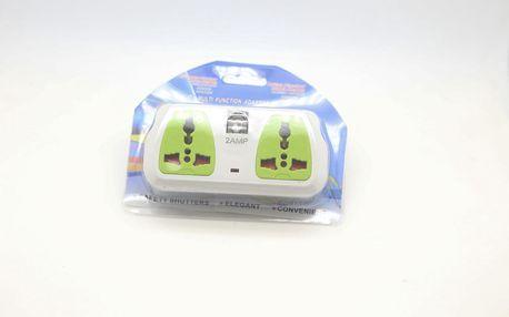 Dvojitý rozbočovač + 2 USB porty