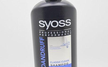 Syoss Anti-dandruff Classic clean Shampoo 500 ml šampon