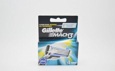 Gillette Mach3 náhradní břitvy