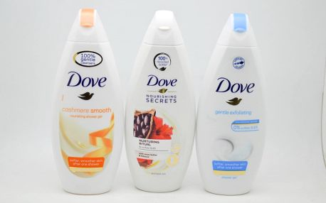 Dove sprchový gel: Gentle exfoliating