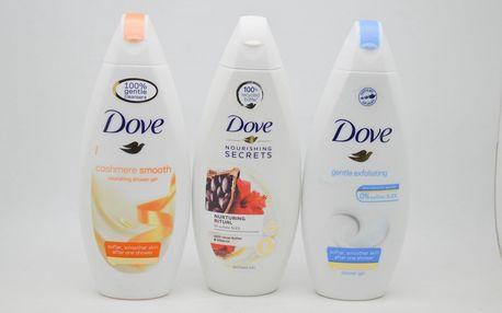 Dove sprchový gel: Nourishing secrets - Cacao butter & hibiscus