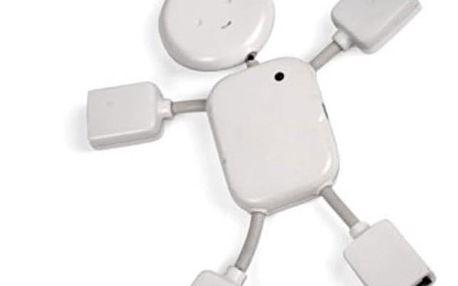 USB roztrojka ve tvaru panáčka