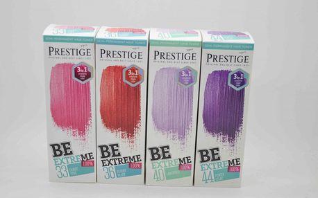 Prestige Be Extreme Barva Na Vlasy 100ml. Barva: 33 Candy Pink