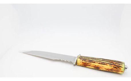 Lovecký nůž - pruhovaný vzor TG