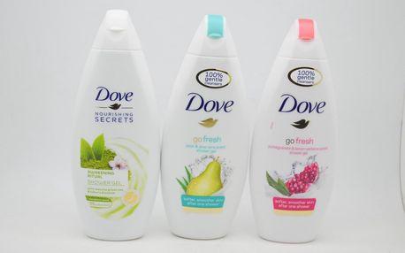 Dove sprchový gel: Go fresh - pomegranate & lemon verbena scent
