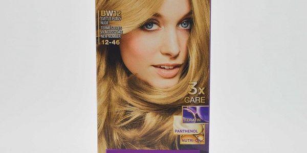 Palette Barva Na Vlasy 50ml: BW12 světleplavý nude