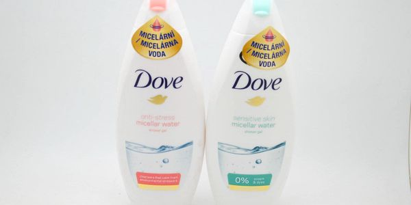 Dove sprchový gel: Antistress micellar water