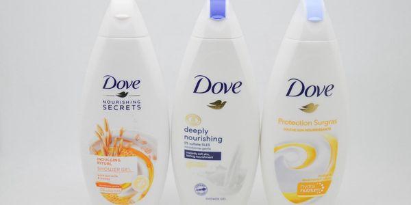 Dove sprchový gel: Deeply nourishing