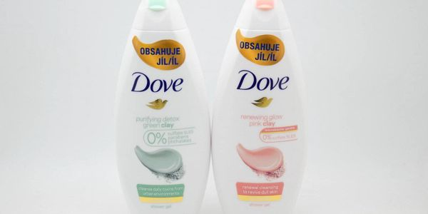Dove sprchový gel: Dove - purifying detox, green clay
