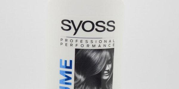 Syoss Volume - kondicionér pro objem na jemné vlasy. Objem: 500 ml