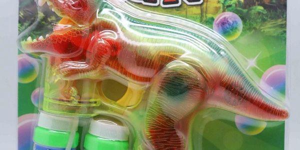Elektrický bublifuk - Dinosaurus
