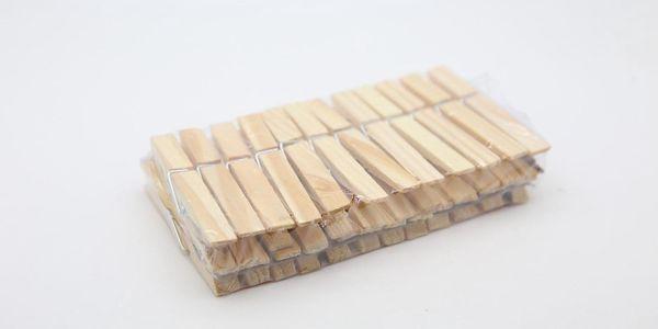 Dřevěné kolíčky na prádlo
