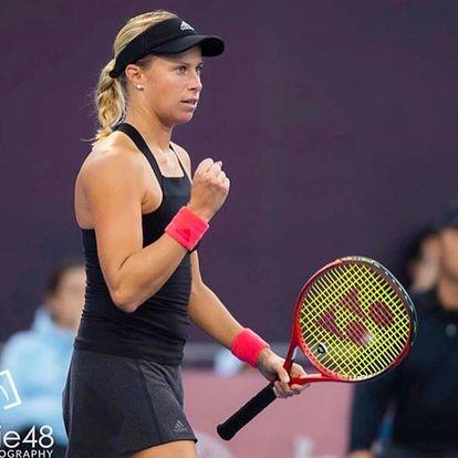 Tenisový trénink s Andreou Sestini Hlaváčkovou