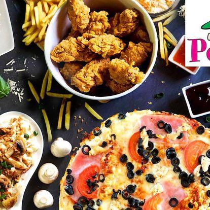 Otevřené vouchery na cokoli z Peťanovy pizzy