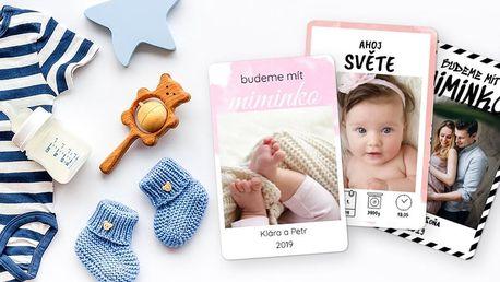 Milníkové kartičky pro nastávající rodiče