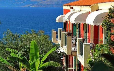 Řecko - Korfu letecky na 4-15 dnů