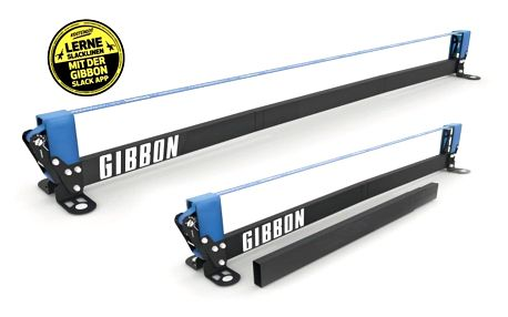 Slackline GIBBON Slack Rack Fitness edition (konstrukce)