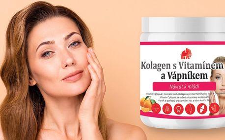 Návrat k mládí: kolagen s vitaminem C a vápníkem