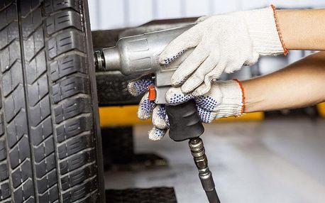Přehození či přezutí pneumatik i full service