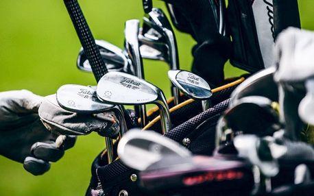 Intenzivní den s golfem pro 1 nebo 2 osoby