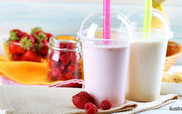 Ovocný koktejl s frozen yogurtem pro 1 nebo 2 osoby