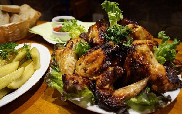 Pečená kuřecí křídla (1,5 kg)4