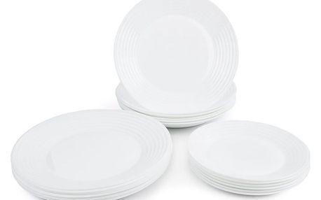 Luminarc 18dílná jídelní sada Harena