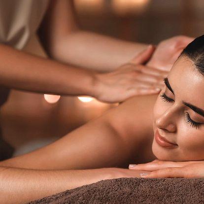 Hodinová masáž dle výběru: havajská, zdravotní aj.