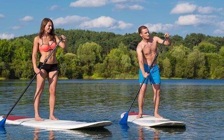 2 hod. paddleboardingu s instruktáží pro 1–4 osoby