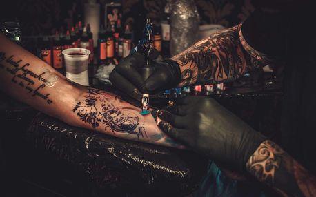 Nové tetování nebo úprava stávajícího v salonu Aries Tattoo v Praze