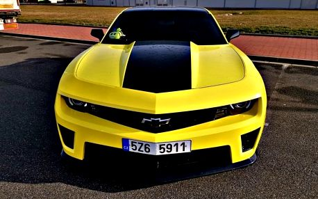 Pronájem supersportu Chevrolet Camaro 2010