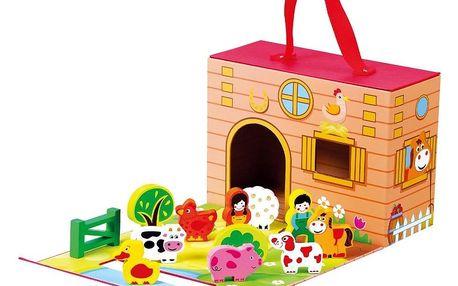 Bino Farma v cestovním kufříku