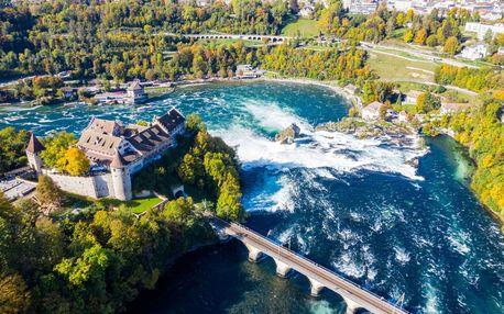 Víkend ve Švýcarsku u Rýnských vodopádů včetně návštěvy Curychu