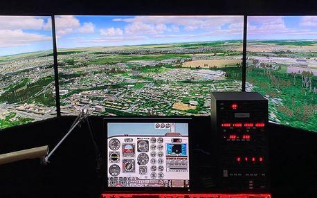 60 minut na leteckém simulátoru Volatus