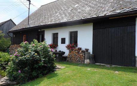 Plzeňský kraj: Stylová chalupa na kraji národního parku Šumava