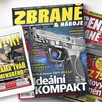 Předplatné časopisu Zbraně a náboje s bonusy