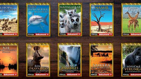 Balíček 10 přírodopisných DVD pro zvídavé jedince