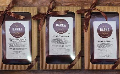 Dárkové kazety s kávou: 150 g lahodné arabiky