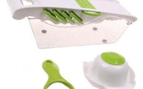 Multifunkční kráječ zelený