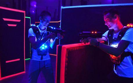 15 minut adrenalinu: lasergame pro 1–12 osob